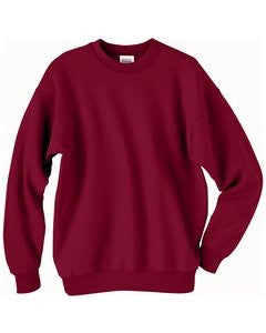 Hanes ComfortBlend Long Sleeve Fleece Crew - p160 (Cardinal / XX-Large)