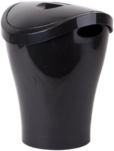 Umbra Swingo Swing-Top Waste Bin, Black