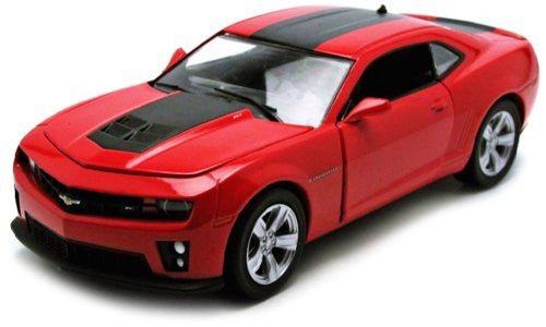 Greenlight - Chevrolet Camaro ZL1 Hard Top (2012, 1/24 scale diecast model car, Red w/ Stripe)