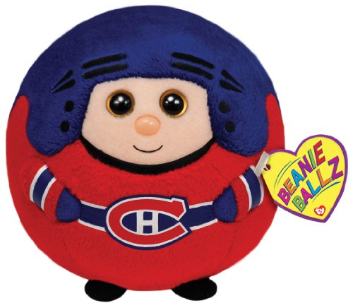 Montreal Canadiens NHL Sports Beanie Ballz Plush, 5-Inch