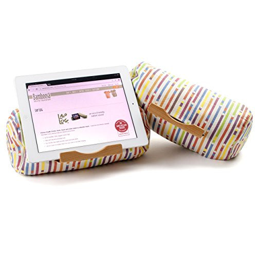 Lap Log Classic- iPad Stand / Touchscreen Tablet Holder  (Candy Roll)