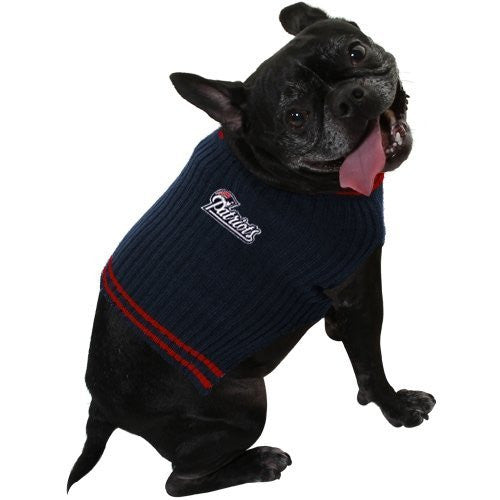 New England Patriots Dog Sweater, medium