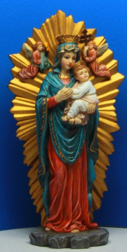 "Our Lady of Perpetual Help Resin 5 1/4"" x 2 1/2"" x 10"""