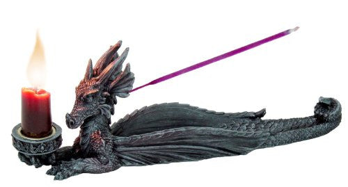 Dragon Incense & Candle Holder