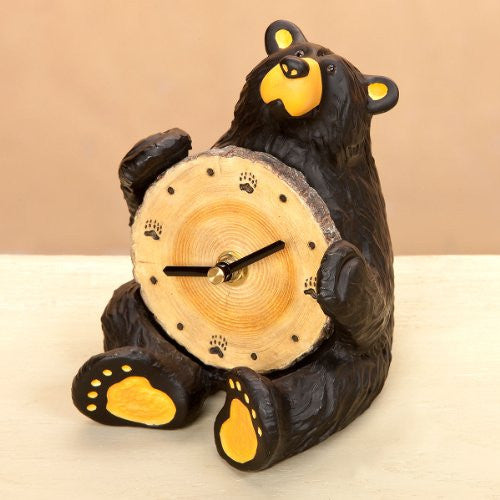 "Sitting Bear"" Clock"