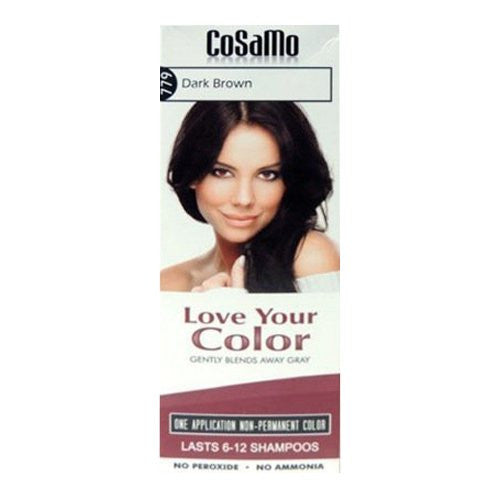Love Your Color Hair Color #779, Dark Brown