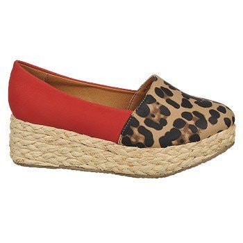 Pina Colada Red/Brown Leopard - 7 B(M) US