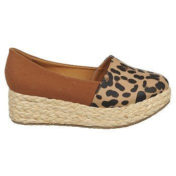 Pina Colada Tan/Brown Leopard - 8 B(M) US