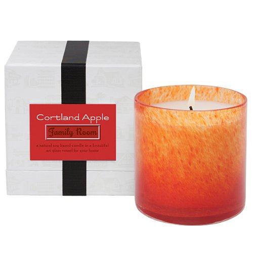 Cortland Apple Candle - Family Room - 16 oz.