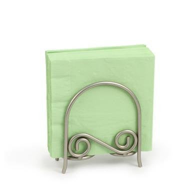 Scroll Arch Napkin Holder - Satin Nickel