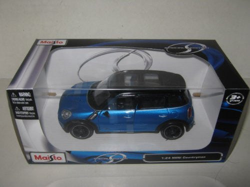 Maisto - Mini Cooper Countryman with Sunroof (1/24 scale diecast model car, Blue)