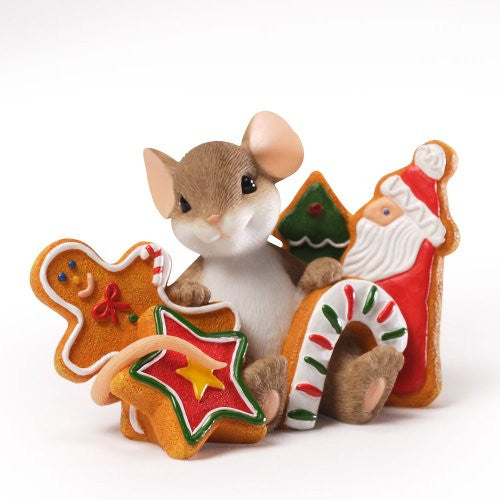 Charming Tails Christmas Cookies Figurine