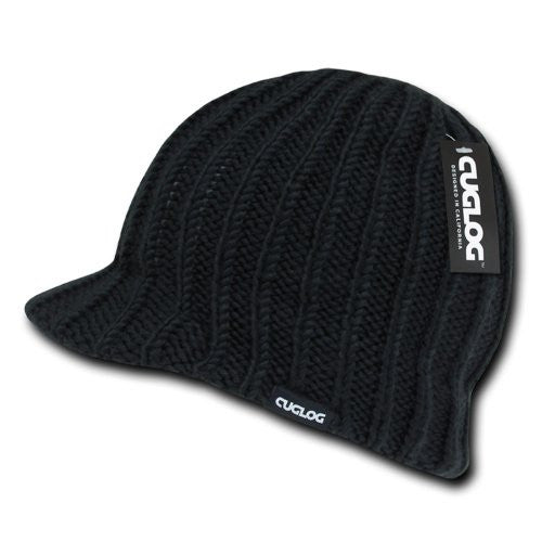 Annapurna Ribbed Jeep Cap, Black