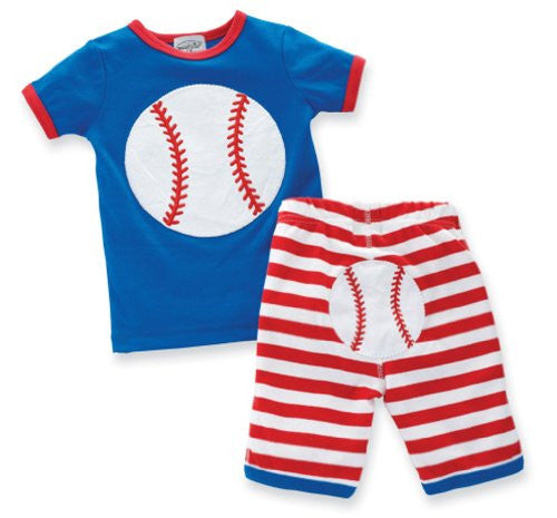 Baseball 2 Piece Set,Size: 6-9 Months