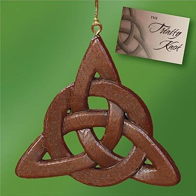 Celtic Trinity Knot Ornament and Card