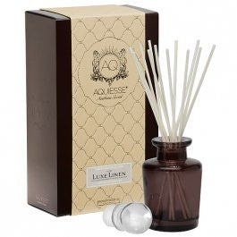 Luxe Linen Reed Diffuser Gift Set