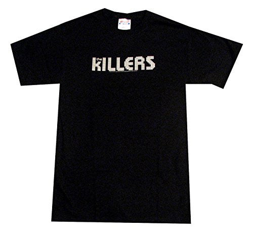 The Killers Logo T-Shirt - Black Size XL