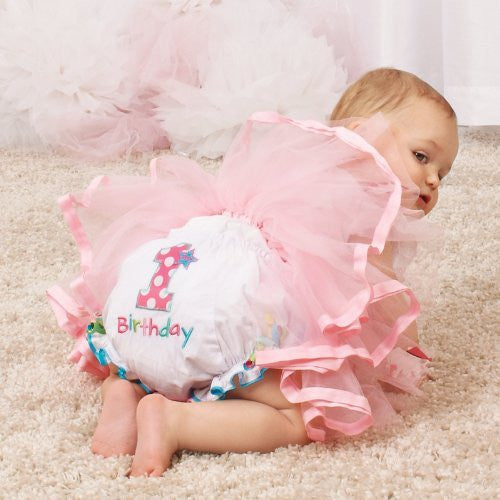 Birthday Girl Bloomer,Size: 12-18 MONTHS