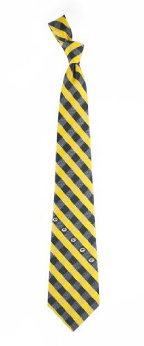 Green Bay Packers Tie Woven Poly Check