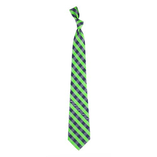 Seattle Seahawks Tie Woven Poly Check