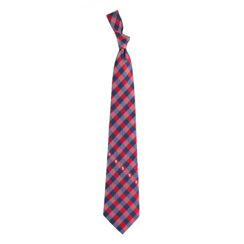 St Louis Cardinals Tie Woven Poly Check