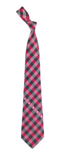 NC State Wolfpack Tie Woven Poly Check