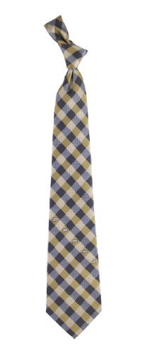 Purdue Boilermakers Tie Woven Poly Check