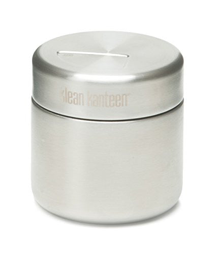 8oz Food Canister (w/Stainless Lid) (Color: Brushed Stainless)