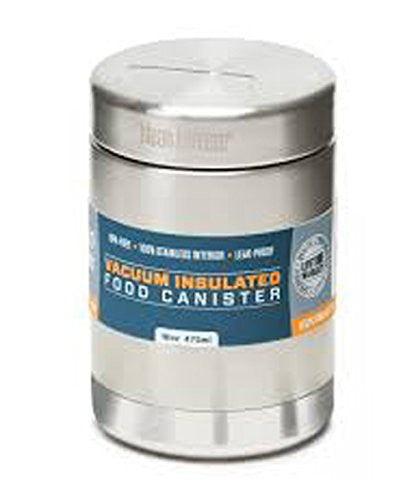 16oz Food Canister Vacuum Insulated (w/Stainless Lid) (Color: Brushed Stainless)