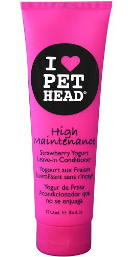 HIGH MAINTENANCE Strawberry Yogurt Leave-In Conditioner, 8.5oz