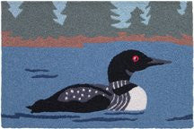 "Loon On The Lake 21"" x 33"""