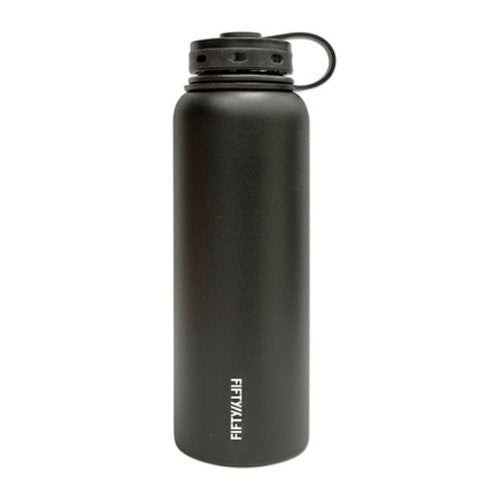 Double-Wall Vacuum-Insulated - Matte Black 40oz