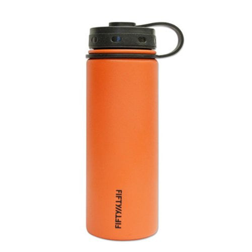 Double-Wall Vacuum-Insulated - Solar Orange 18oz