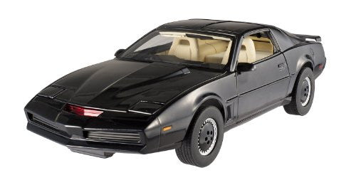 Mattel Hot Wheels Elite - Knight Rider KITT Knight Industries Two Thousand T-Top (1/18 scale diecast model car, Black)