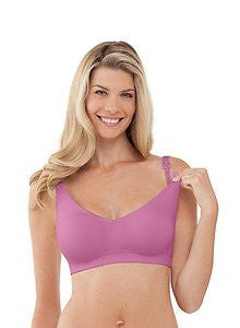 Bravado Body Silk Seamless Nursing Bra - Large Orchid Pink