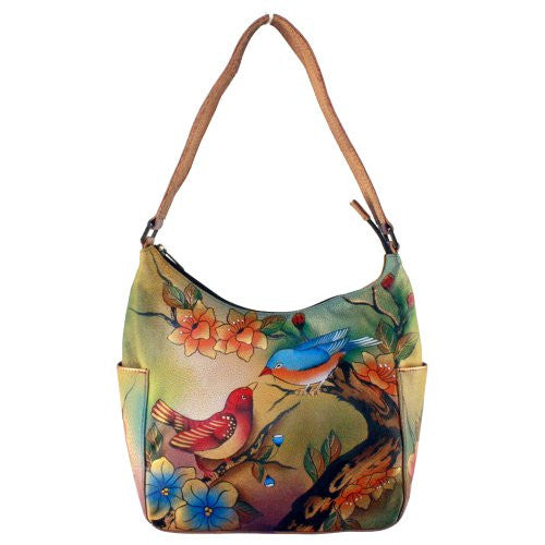 Two For Joy Classic Hobo with Side Pockets