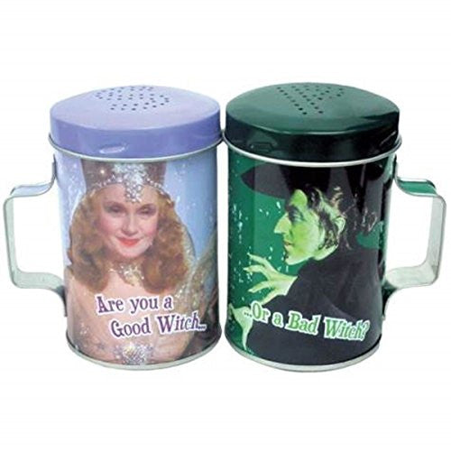 Good Witch Or Bad Witch Tin S&P Shakers