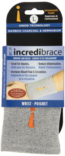 Wrist Brace w/Germanium - Grey, Large
