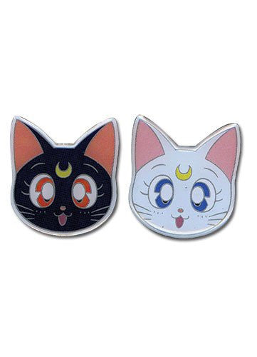 Sailormoon Luna & Artemis Metal Pinset