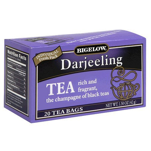 Bigelow Tea, 20 Bags - Darjeeling (3 Pack)