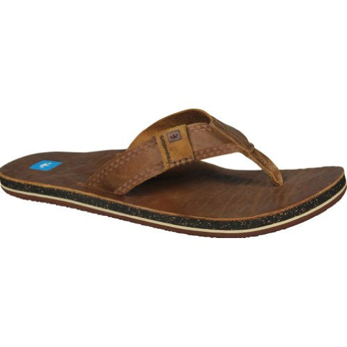 Men Sandal, MCCOY, Size: 12(Brown)