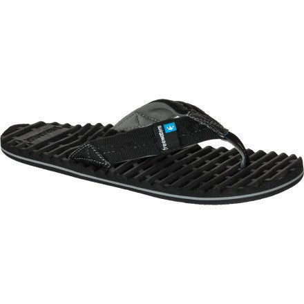 Freewaters Scamp Men's Flip-Flops/Slipper/Sandal Footwear - Black / Size 8