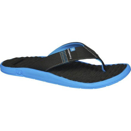Men Sandal, GPS,Size: 12(Black/Blue)