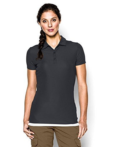 Tac Women's Range Polo - Dark Navy Blue, Medium