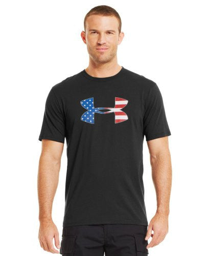 Big Flag Logo T - Black, 2X-Large