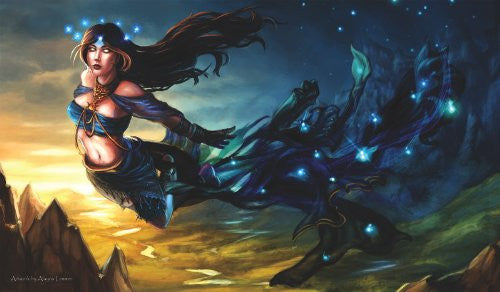 Nyx Greek Goddess Playmat