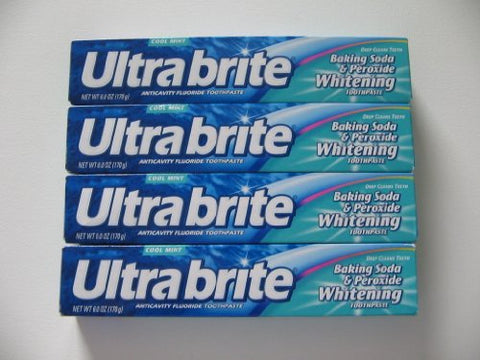 Ultrabrite Toothpaste - Baking Soda 6 oz