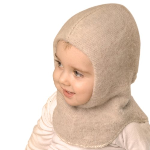 Lanacare Double-Layer Nelson Hat (Balaclava) for Baby, Child, Adult - Soft Sand, 152 (9 yrs up)