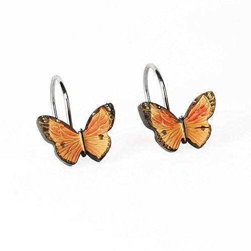 Butterfly Bliss Shower Curtain Hooks (12)