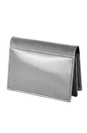 Gusset Driving Wallet (ID) - Silver
